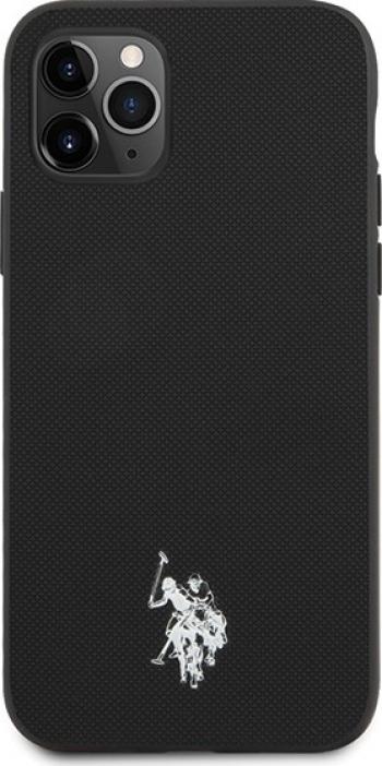Husa Premium Originala Us Polo Assn iPhone 11 Pro Negru Huse Telefoane
