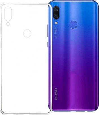 Husa Spate Silicon Ultra Slim Upzz Huawei P Smart Z Transparenta