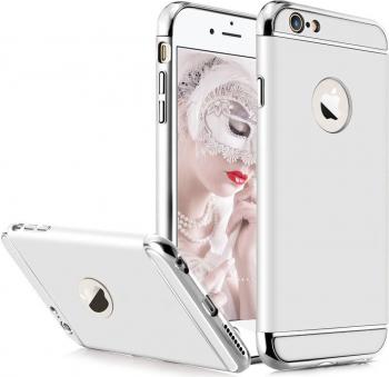 Husa telefon Iphone 6 / 6S ofera protectie 3in1 Ultrasubtire - Silver Matte