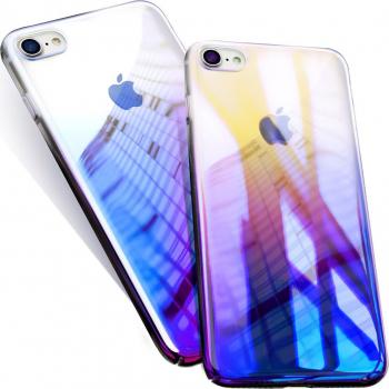 Husa telefon Iphone 8 Plus ofera protectie Ultrasubtire - Blue Cameleon