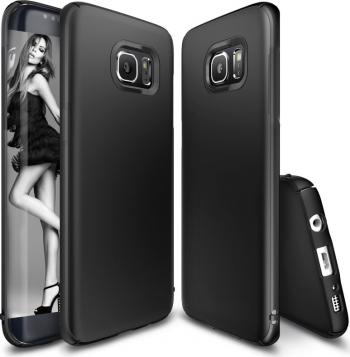 Husa telefon Samsung S8 ofera protectie Ultrasubtire Silk Black Matte