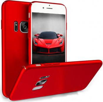 Husa telefon Samsung S8 ofera protectie Ultrasubtire Silk Red Matte