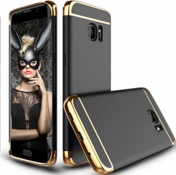 Husa telefon Samsung S8 Plus ofera protectie 3in1 Ultrasubtire - Black Matte