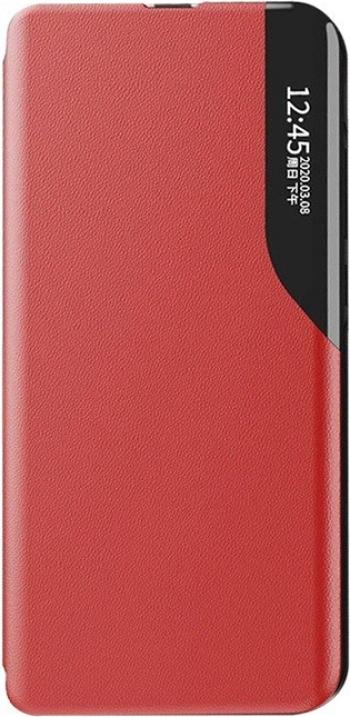 Husa Tip Carte Upzz Eco Book Compatibila Cu Xiaomi Redmi Note 8 Pro Piele Ecologica - Rosu Huse Telefoane