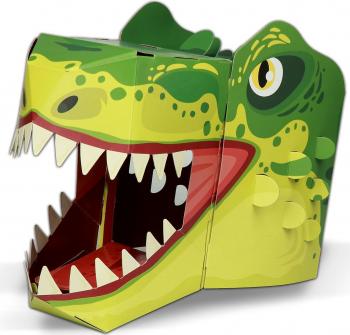 Masca 3D T-Rex Fiesta Crafts FCT-3016 Jucarii Interactive