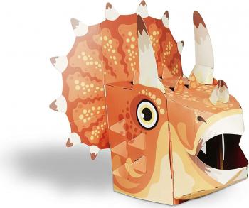 Masca 3D Triceratops Fiesta Crafts FCT-3017 Jucarii Interactive