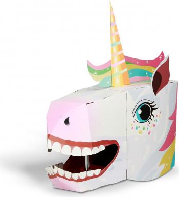 Masca 3D Unicorn Fiesta Crafts FCT-3019 Jucarii Interactive