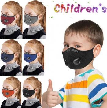 Masca protectie copii cu filtru pentru particule KN95 si 4 filtre de rezerva Masti chirurgicale si reutilizabile