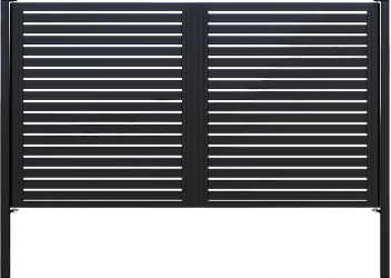 Poarta batanta profil orizontal zincata termic GP-O Panouri gard