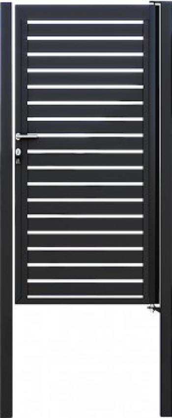Portita profil orizontal zincata termic GP-O Panouri gard