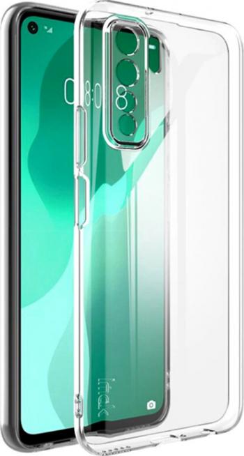 Husa pentru Huawei P40 Lite 5G - Silicon Jelly UltraSlim Transparenta - HTphone iSlim