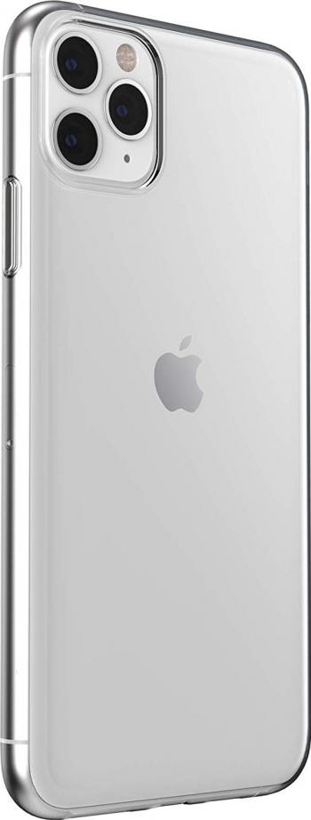 Husa Spate Silicon Ultra Slim Upzz iPhone 11 Pro Transparenta Huse Telefoane