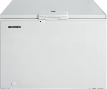 Lada frigorifica Heinner HCF-M250EE++ 250 l Clasa A++ Display LED Control elecronic Congelare rapida Alb Lazi si congelatoare