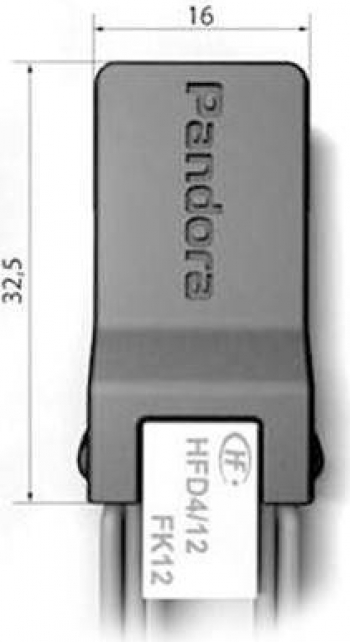 Pandora BT-01 RELEU WiFi BLUETOOTH Alarme auto si Senzori de parcare