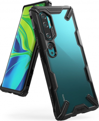 Ringke Fushion X Pentru Xiaomi Mi Note 10 / Mi Note 10 Pro Negru Huse Telefoane