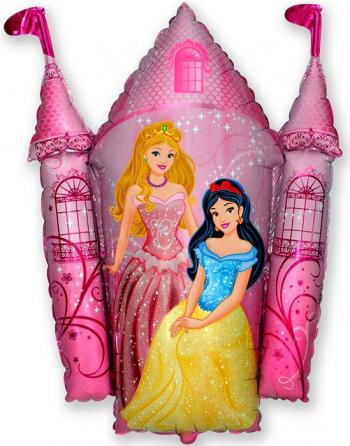 Balon figurina Castel printese multicolor 74 cm x 80 cm Decoratiuni petreceri
