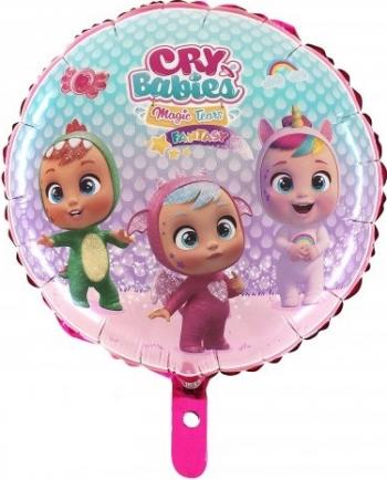 Balon folie Cry Babies multicolor 45 cm Decoratiuni petreceri