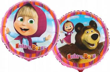 Balon folie Masha multicolor 45 cm Decoratiuni petreceri