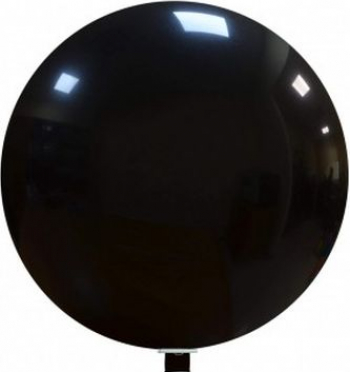 Balon latex jumbo negru 80 cm Decoratiuni petreceri