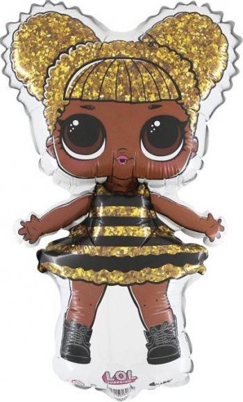 Balon mini figurina LOL Surprise Queen Bee multicolor 30 cm Decoratiuni petreceri