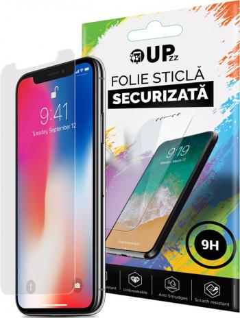Folie Sticla Securizata Upzz Glass iPhone 11 Pro duritate 9h transparenta Folii Protectie