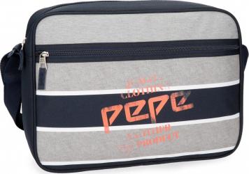 Geanta umar 38 cm cu compartimente de laptop Pepe Jeans Pierre Genti de dama