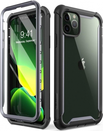 Husa Premium Originala 360 Grade Supcase Iblason Ares iPhone 11 Pro Negru Huse Telefoane