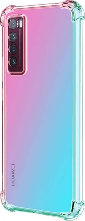 Husa Premium Upzz Crystal Armor Huawei P Smart 2021 Transparenta Cu Tehnologie Air Cushion