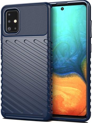 Husa Spate Upzz Thunder Case Antishock Samsung Galaxy A21s Silicon Albastru Huse Telefoane