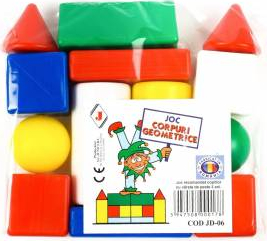 Joc educativ Corpuri geometrice