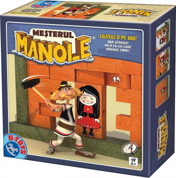 MESTERUL MANOLE - JOC DE SOCIETATE Jocuri de Societate