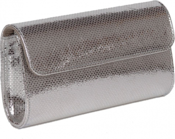 Plic argintiu fagure din piele naturala model 07 MAGAZINUL DE GENTI