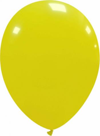 Set 30 baloane latex galben deschis 13 cm Decoratiuni petreceri