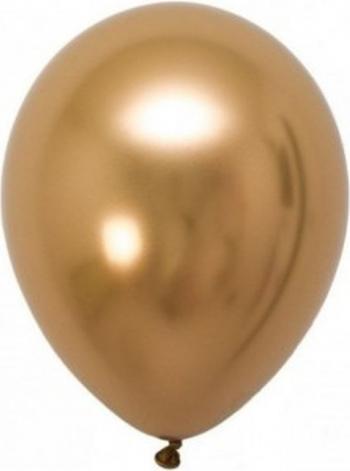 Set 6 baloane latex chrome auriu 30 cm Decoratiuni petreceri