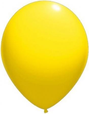 Set baloane latex 13 cm galbene 50 buc Decoratiuni petreceri