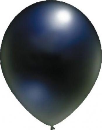 Set baloane latex 13 cm negre 50 buc Decoratiuni petreceri