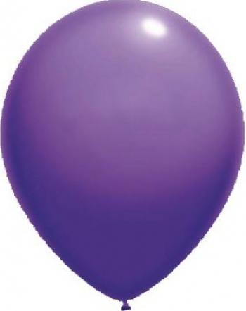 Set baloane latex 13 cm violet 50 buc Decoratiuni petreceri