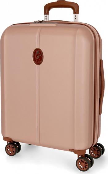 Troler ABS 55 cm 4 roti El Potro Ocuri roz Trolere