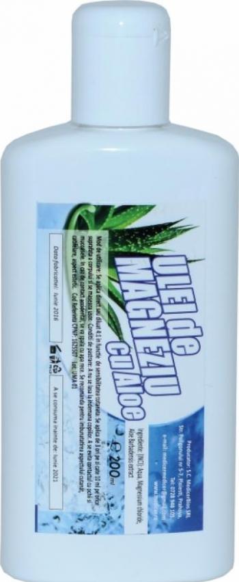 Ulei de Magneziu cu Aloe Vera 200 ml
