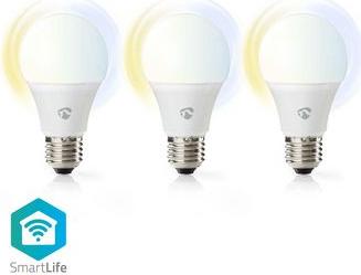 Bec LED Smart WiFi E27 9W 800 lm 2700-6500K set 3 bucati Corpuri de iluminat