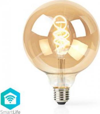 Bec WiFi Smart LED cu filament E27 G125 5.5W 350 lm 1800-6500K Corpuri de iluminat