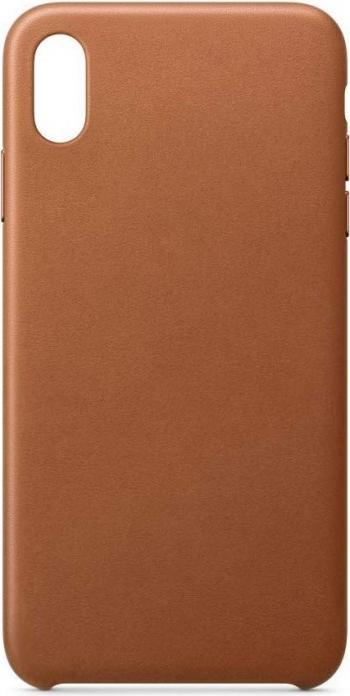 Husa Spate Leather Upzz iPhone 11 Pro Brown Huse Telefoane