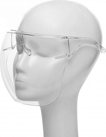 Viziera profesionala protectie faciala marimea M Neo transparenta usoara dezinfectabila Articole protectia muncii