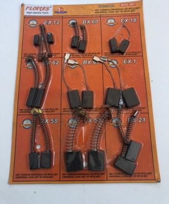 Carbuni universali 9/Set Accesorii electrocasnice