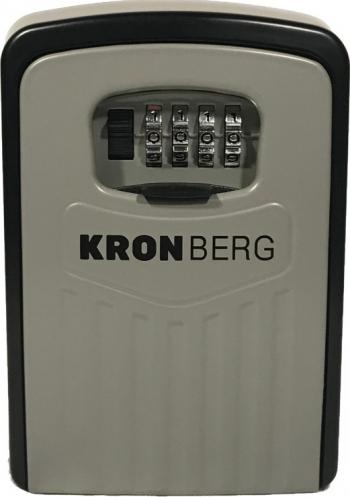 Depozitar chei keybox IMOBY XL cifru mecanic 145 X 105 X 52 mm gri/negru