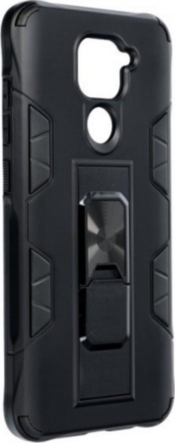 Husa Defender Armor cu Stand Magnetic in Spate pentru Xiaomi Redmi Note 9 Negru Huse Telefoane