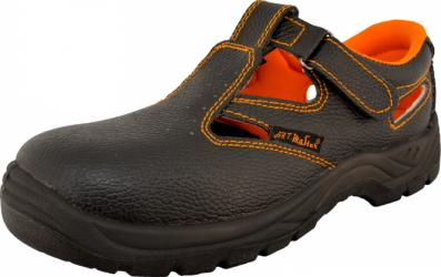 Sandale de siguranta ARTMAS cu varf din otel marimea 46 culoare negru Articole protectia muncii