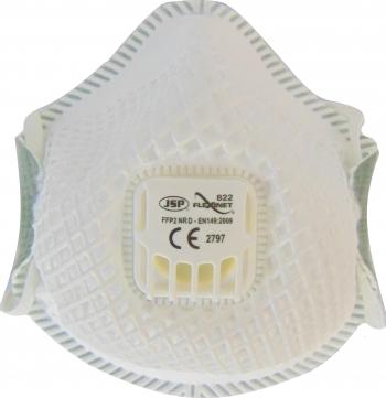 Semiamasca de unica folosinta Flexinet FFP2 cu o supapa Masti chirurgicale si reutilizabile