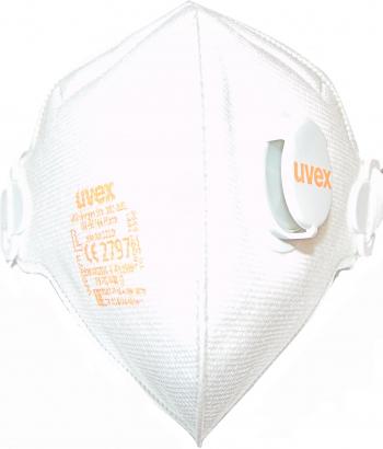 Semimasca UVEX FFP2 3210 cu supapa Masti chirurgicale si reutilizabile