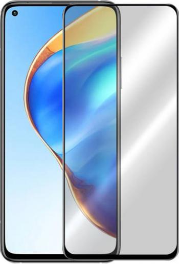 Folie G-Tech compatibila cu Xiaomi Mi 10T Full Glue Full Cover HD Clarity 6X Stronger Premium Glass Black Folii Protectie